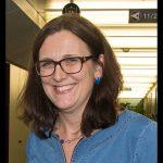 Cecilia Malmström, 2014. Foto: Stian Mathisen. Licens: CC BY 2.0, Wikimedia Commons