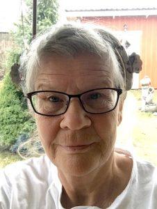 Eva Svensson, selfie