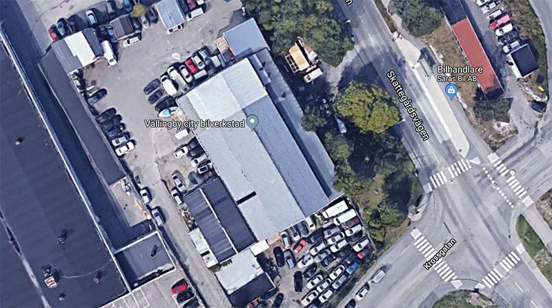 Vällingby City Bilverkstad i Vinsta. Foto: Google Maps