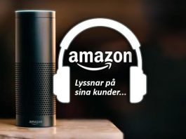 Amazon Alexa lyssnar på sina kunder
