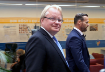Peter Hultqvist den 25 maj 2018 i Stockholm. Foto: Torbjörn Sassersson, NewsVoice.se