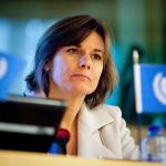 Isabella Lövin - Pressfoto: Miljöpartiet. Licens: CC BY-NC ND 2.0, Flickr.com