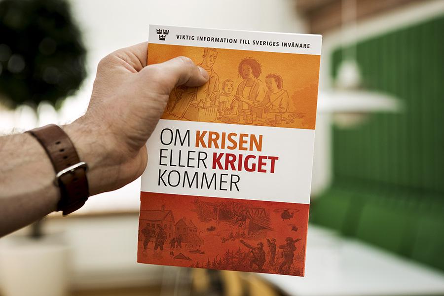MSB har ansvar för informationssäkerhet i landet. Pressfoto: Thomas Henrikson, MSB