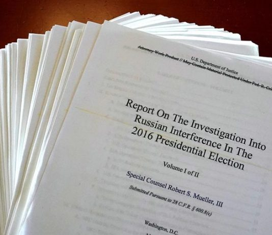 Mueller-rapporten. Foto: RT.com