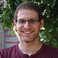 Den israeliska forskaren Nadav Noor är en av hjärnorna bakom 3D-hjärtat. Foto: privat Linkedin-sida