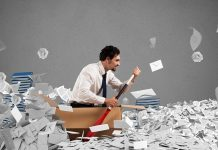 Byråkrati. Bild: Crestock.com