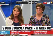 EU-valet 2019. Foto: skärmdump från Expressen.se