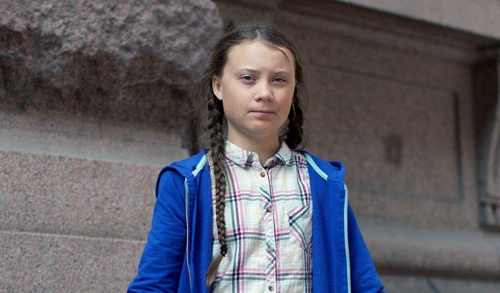 Greta Thunberg (Klimat-Great). Foto (beskuret): Anders Hellberg. Licens: CC BY-SA 4.0, Wikimedia Commons