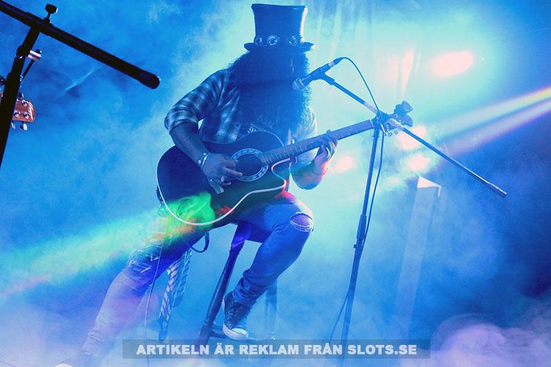 Guns N'Roses och slotspel. Foto: Alejandro Alvarino