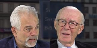 Mikael Willgert och Lars Bern 19 maj 2019. Foto: SwebbTV.se
