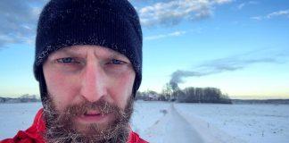 Ivar Arpi 21 januari 2019, selfie