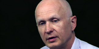 """Robert Hahn. Foto från dokumentären """"Kampen om Hälsoparadigmet"""" (med tillstånd)"""
