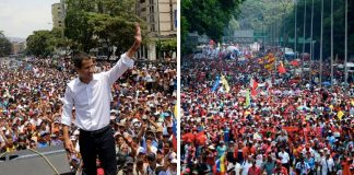 Caracas 3 maj 2019 - Montage: The Real News