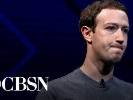 Mark Zuckerberg. Bild från BCS News videoreprotage