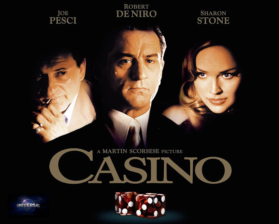 Casino (1995) movie-poster. Credit: Universal Pictures