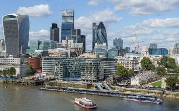 City of London, sep 2015. Licens: CC BY SA 4.0, Wikimedia Commons