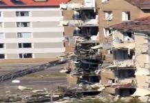 Kraftig explosion i Linköping den 7 juni 2019. Privat foto.