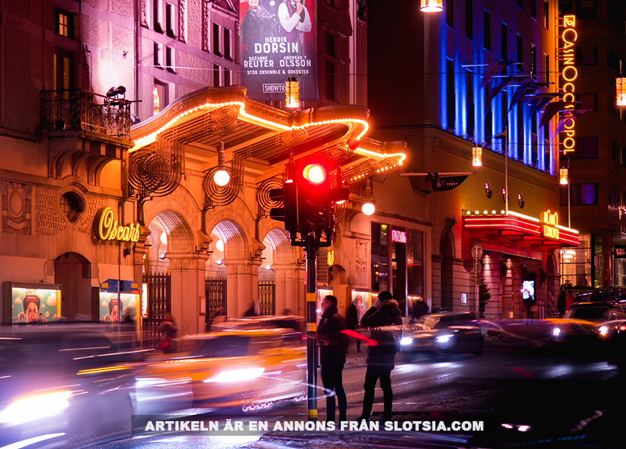 Casino Cosmopol i Stockholm. Foto: Mikael Stenberg. Licens: Unsplash.com (free use)