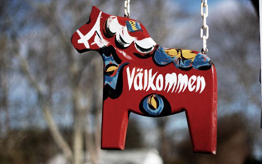 Dalahäst i Sverige. Foto: Lisa HBKR. Licens: Flickr.com