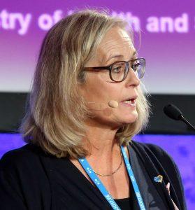 Agneta Karlsson, fd statssekreterare. Foto: EU2017EE Estonian Presidency. Licens: CC BY 2.0, Wikimedia Commons