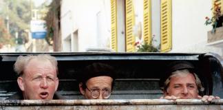 Bild från komedin Jönssonligan på Mallorca (1989). Foto: Cinema Art