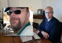 NewsVoice montage med privata foton på Mathias Cederholm och Torbjörn S.