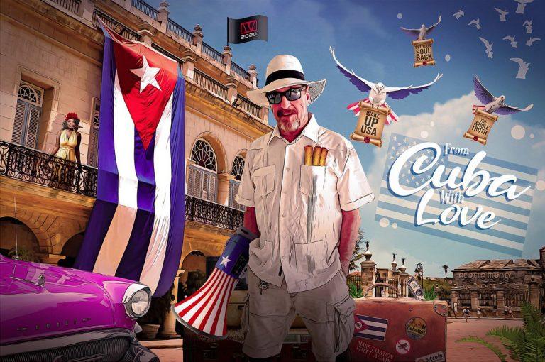 John McAfee är trött på amerikanska mediers anti-Kuba-propaganda