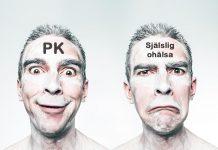 PK-idiot och själslig ohälsa. Foto: Gratisography. Licens: Pexels.com. Montage: NewsVoice