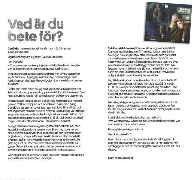 Björn Runge skriver om dr Erik Enby