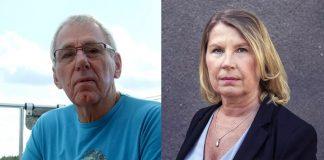 Sven-Erik Nordin (privat foto) och Charlotta Friborg (pressfoto: Stina Stjernkvist för SVT)