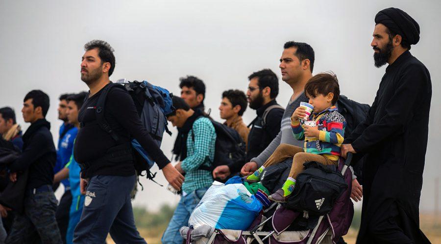 Migranter. Foto: Mostafa Meraji. Licens: Unsplash.com (free use)