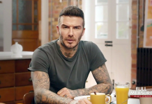 "Beckham: ""Malaria must die"" Foto: Full Measure"
