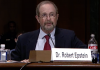 Dr Robert Epstein on Google and Censorship through Search Engines. Foto: Senate Judiciary Subcommitte, July 16, 2019