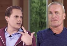 """Erik och Matti nr 10, 15 augusti 2019. """"Sverige har aldrig varit tryggare"""". Foto: SwebbTV"""