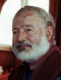 Ernest Hemingway. Källa: John F. Kennedy library, Public Domain