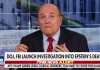 Rudy Giuliani, 13 aug 2019. Foto: FoxNews.com