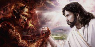 Kampen mellan det onda och det goda. Wallpaper: Wallfon.com