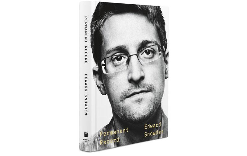 Permanent Record av Edward Snowden,sep 2019. Bildomslag: Panmacmillan.com