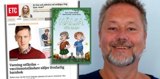 Stefan Whilde replikerar Andreas Gustafsson i ETC. Montage: Newsvoice.se