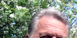 Thomas Gunnarson, selfie