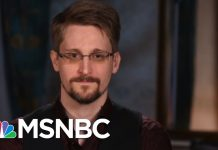 Edward Snowden, 17 Sep 2019. Photo: MSNBC