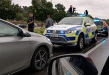 Polisen, Hässelby Gård. Foto: T. Sassersson, 2019-08-23