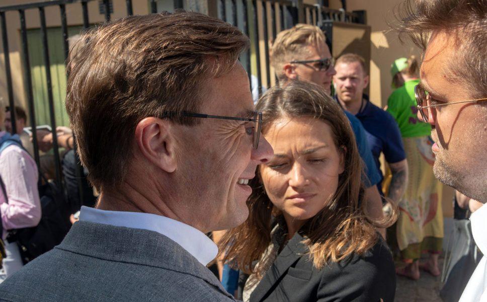 Ulf Kristersson. Foto: Sten-Åke Stenberg. Licens: Mostphotos.