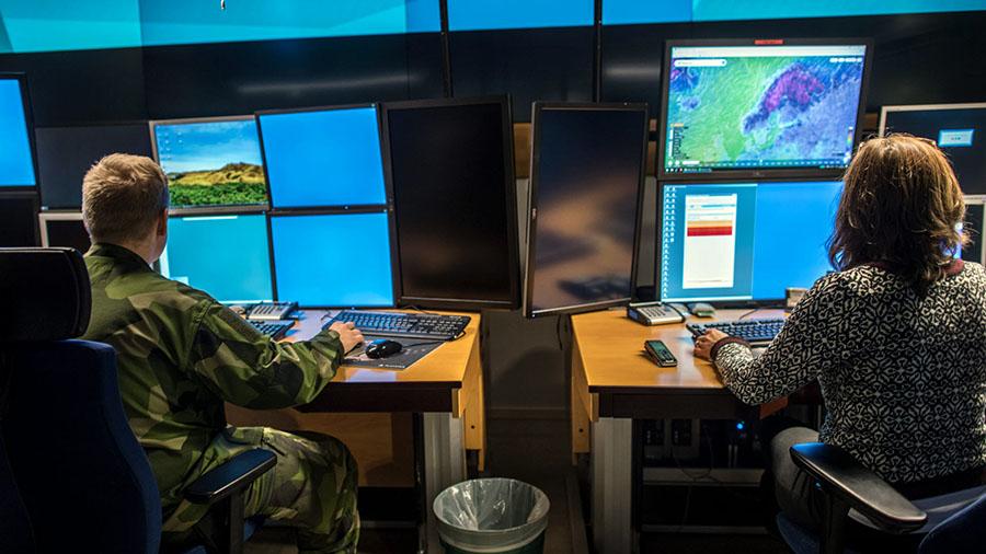 Svenska CIO Cyberförsvaret. Foto: Bezav Mahmod, FMV