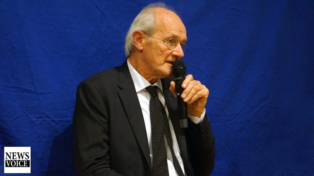 John Shipton, 26 sep 2019. Foto: T. Sassersson, NewsVoice.se