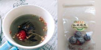 Kinesiskt vitt te. Foto: Madeleine Lidman