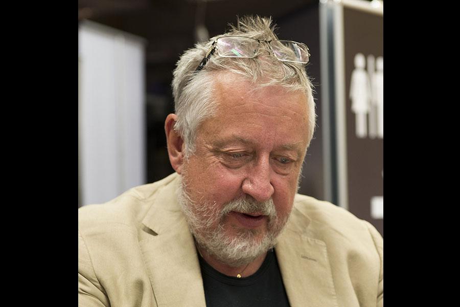 Leif GW Persson, 2013. Foto: Albin Olsson. Licens: CC BY-SA 3.0, Wikimedia