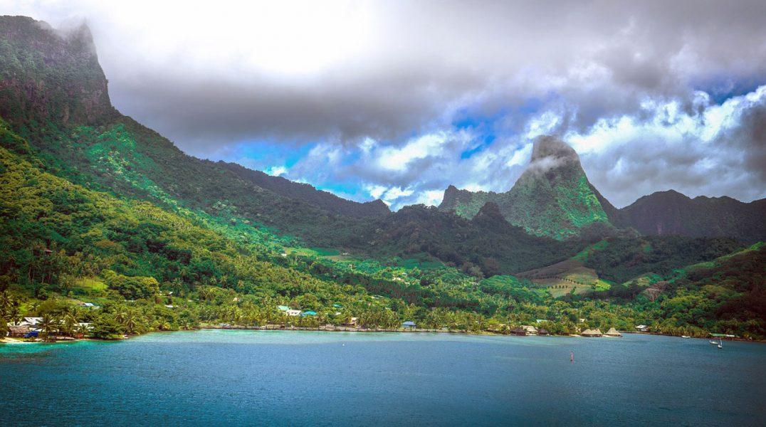 Bild från Moorea i Franska Polynesien i Stilla havet. Foto:Michelle Maria.Licens: Pixabay.com (free use)