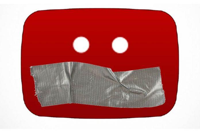 Youtube censurerar