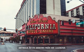 Downtown casino, California, Las Vegas. Foto: Neonbrand. Licens: Unsplash.com